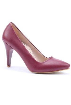 Subaşı Stiletto Cilt Topuklu Ayakkabı