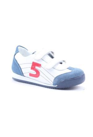 Alibo 3000 %100 Deri Günlük Cırtlı Ortopedik Çocuk Ayakkabı