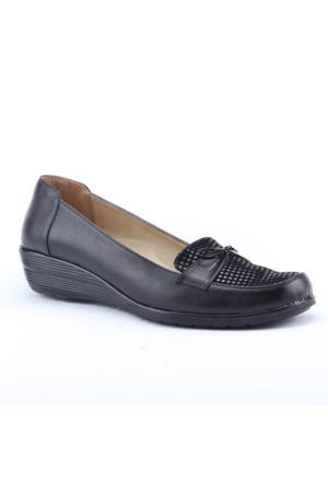 Anne Floor 1700 Günlük Ortapedik Taban Pullu Klasik Kadın Ayakkabı