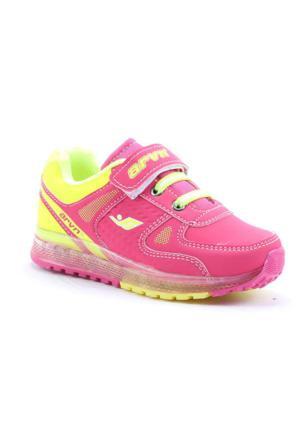 Arvento 745 Günlük Yürüyüş Koşu Işıklı Kız Çocuk Spor Ayakkabı