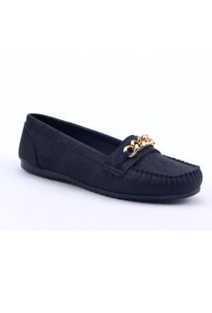 Caprito Y-056 Ortopedik Günlük Kadın Babet Rok Ayakkabı