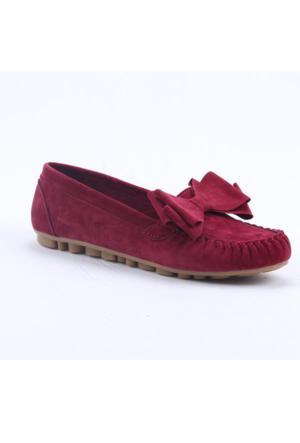 Ccway 015 Günlük Ortopedik 3 Katlı Papyonlu Kadın Rok Ayakkabı
