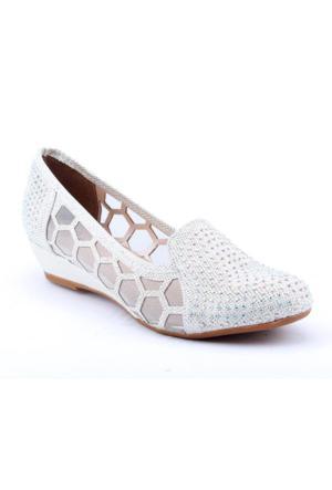 Cristina 3404 Abiye Gelin Büyük Numara Kadın Ayakkabı