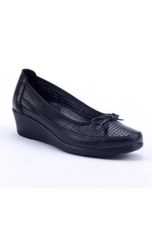 Footstep 018 Günlük %100 Deri 4Cm Ortopedik Pedli Anne Ayakkabı