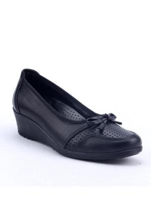 Footstep 021 Günlük %100 Deri 4Cm Ortopedik Pedli Anne Ayakkabı