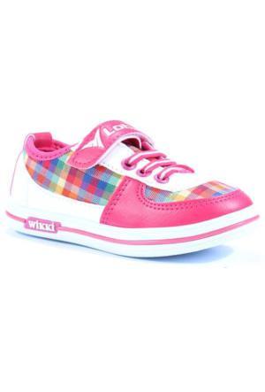 Lotix Desenli Cırtlı Erkek Çocuk Spor Ayakkabı