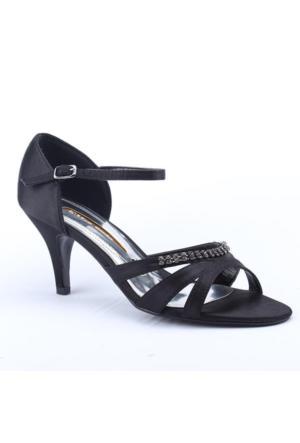 Max Style 1800 Abiye Klasik Topuk 7,5Cm Kadın Ayakkabı