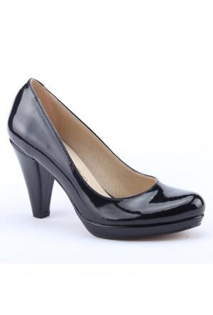 Mitto 1800 Fındık Topuk Rugan Abiye Kadın Ayakkabı