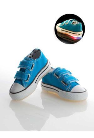 Stilo 2500 Günlük Keten Convers Işıklı Kız Erkek Spor Ayakkabı