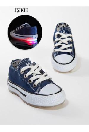 Stilo 2800 Günlük Keten Convers Işıklı Kız Erkek Spor Ayakkabı