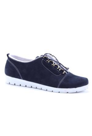 Elina Süet Bağcıklı Spor Ayakkabı
