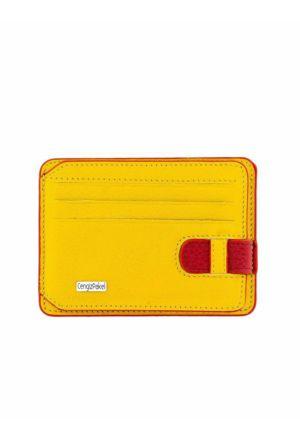 Cengiz Pakel Unısex Kartlık-2404 sarı/kırmızı