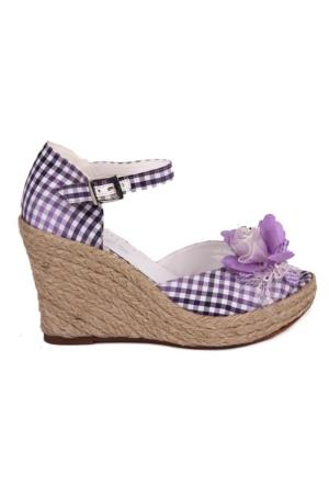 Sail Lakers - Dolgu Topuk Sandalet