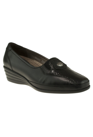 Forelli 3541 Comfort Siyah Kadın Ayakkabı