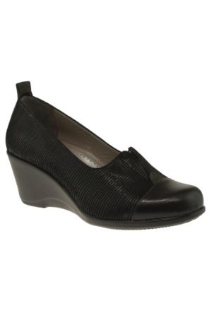 Venus 28910 Sade Feta Siyah Kadın Ayakkabı