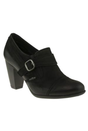 Venus 70352 Tek Toka Siyah Kadın Ayakkabı