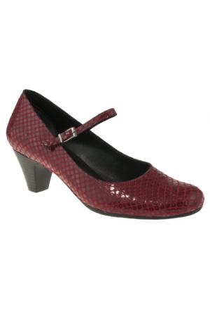 Gess -762 Bilek Tokali Kırmızı Kadın Ayakkabı