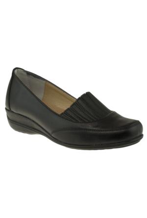 Kawest 620Y439 Comfort Siyah Kadın Ayakkabı