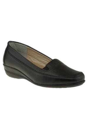 Kawest 620Y451 Comfort Siyah Kadın Ayakkabı