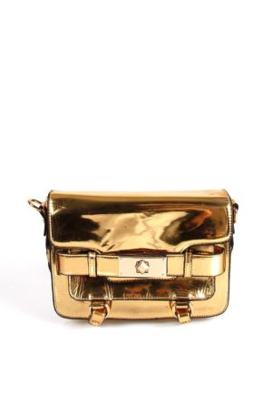 JACQULINE 135-51 GOLD-GOLD Çapraz Bayan Çanta