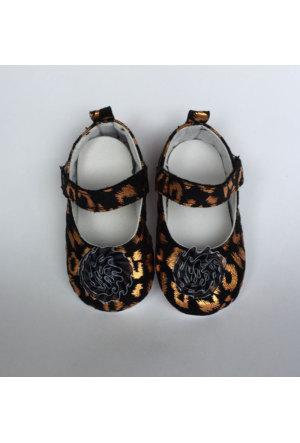 Caramell Kız Bebek Ayakkabı Altın