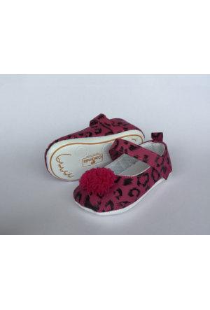 Caramell Kız Bebek Fuşya Ayakkabı