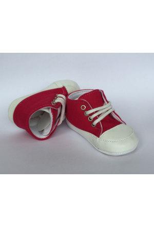 Caramell Fuşya Bebek Ayakkabı