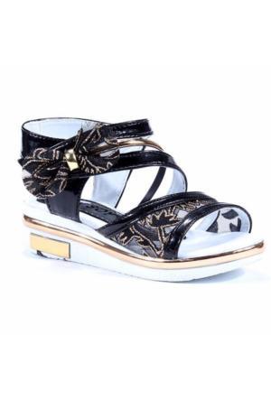 Teksoy Fiyonklu Bilek Cırtlı Kız Çocuk Sandalet