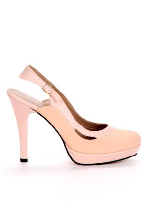 Adonna Bayan Ayakkabı - 201 Pudra