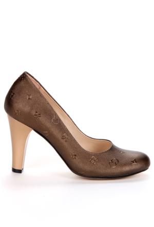 Adonna Bayan Ayakkabı - 5007 Bakır
