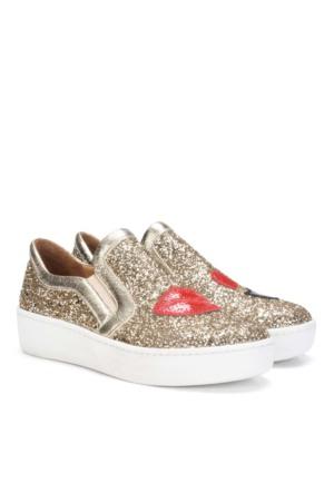 İlvi 22065 Rouge Ayakkabı Altın
