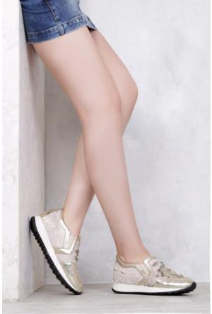 İlvi Sevit 7153 Spor Ayakkabı Altın