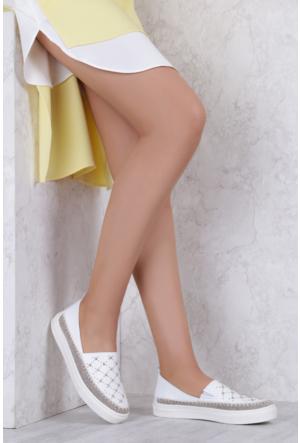 İlvi Perit 6266 Spor Ayakkabı Beyaz