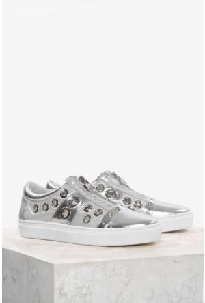 İlvi Moxy 9880 Spor Ayakkabı Gümüş