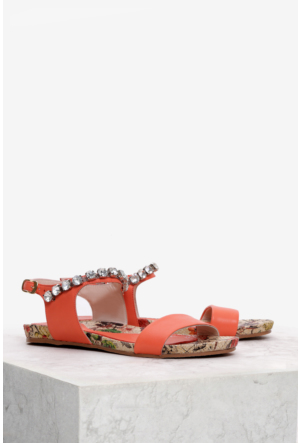 İlvi Sorre Gm-64 Sandalet Turuncu