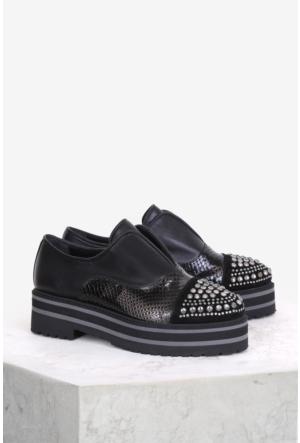 İlvi Desma 10075 Günlük Ayakkabı Siyah Multi