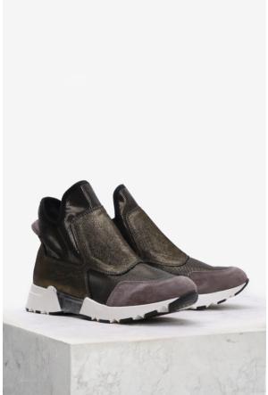 İlvi Maia T520 Spor Ayakkabı Bakır Simli