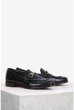 İlvi Kimi 32653 Günlük Ayakkabı Siyah Kroko