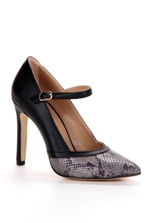 Adonna Bayan Stiletto - 7211 Siyah