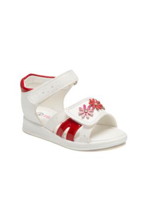 Pink Step A3335194 Beyaz Kız Çocuk Sandalet