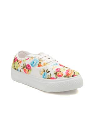 Kinetix A1302907 Beyaz Kadın Ayakkabı