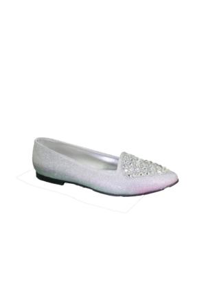 Despina Vandi Tnc 0031 Günlük Kadın Taşlı Babet Ayakkabı