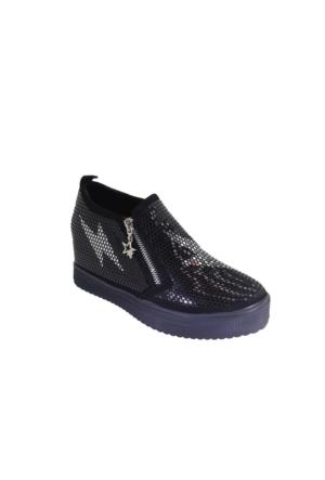 Despina Vandi Blg 16K272-2 Günlük Kadın Dolgu Baskılı Ayakkabı
