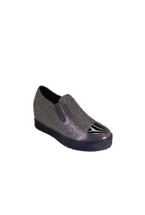 Despina Vandi Blg 16K272-4 Günlük Kadın Dolgu Taşlı Ayakkabı
