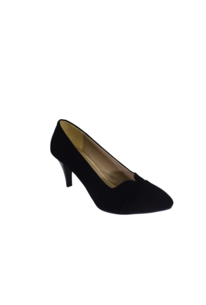 Despina Vandi Vnr 725-1 Günlük Kadın Topuklu Süet Ayakkabı