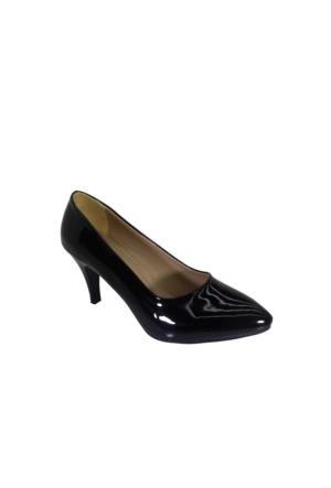 Despina Vandi Vnr 792-1 Günlük Kadın Topuklu Rugan Ayakkabı