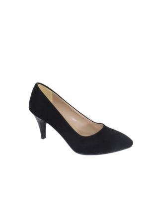 Despina Vandi Vnr 792-1 Günlük Kadın Topuklu Süet Ayakkabı