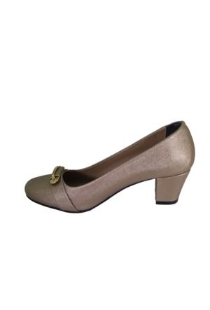 Oflaz K-517 Kadın Günlük Topuklu Ayakkabı