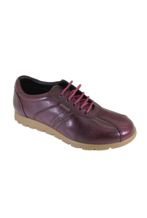 King Paolo K8427 Kadın Deri Günlük Casual Ayakkabı
