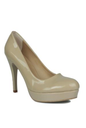 Loggalin Kadın Bej Platform Ayakkabı 580501 031 320